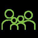Employment benefits icon