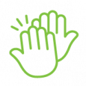 High Five Employment Icon